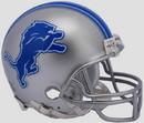 Detroit Lions Helmet Riddell Replica Mini VSR4 Style
