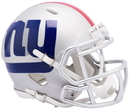 New York Giants Helmet Riddell Replica Mini Speed Style AMP Alternate