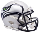 Seattle Seahawks Helmet Riddell Replica Mini Speed Style AMP Alternate