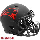 New England Patriots Helmet Riddell Replica Mini Speed Style Eclipse Alternate Special Order