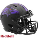 Baltimore Ravens Helmet Riddell Replica Mini Speed Style Eclipse Alternate Special Order