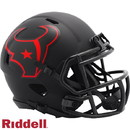 Houston Texans Helmet Riddell Replica Mini Speed Style Eclipse Alternate Special Order