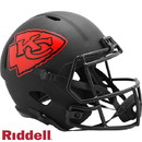 Kansas City Chiefs Helmet Riddell Replica Full Size Speed Style Eclipse Alternate Special Order