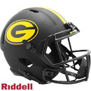 Green Bay Packers Helmet Riddell Replica Full Size Speed Style Eclipse Alternate Special Order