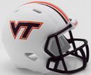 Virginia Tech Hokies Helmet Riddell Pocket Pro Speed Style Special Order