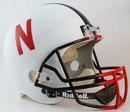 Nebraska Cornhuskers Riddell Deluxe Replica Helmet - Alternate White