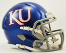 Kansas Jayhawks Speed Mini Helmet - 2012 Logo