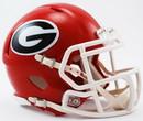 Georgia Bulldogs Speed Mini Helmet