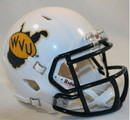 West Virginia Mountaineers Speed Mini Helmet with Throwback Logo
