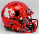 Louisville Cardinals Helmet Riddell Replica Mini Speed Style Chrome Alternate