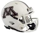 Minnesota Golden Gophers Helmet Riddell Replica Mini Speed Style White