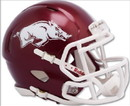 Arkansas Razorbacks Helmet Riddell Replica Mini Speed Style