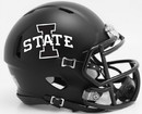 Iowa State Cyclones Helmet Riddell Replica Mini Speed Style Satin Black