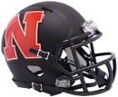 Nebraska Cornhuskers Helmet Riddell Replica Mini Speed Style AMP Alternate