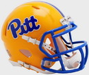 Pittsburgh Panthers Helmet Riddell Replica Mini Speed Style Gold