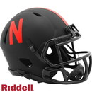 Nebraska Cornhuskers Helmet Riddell Replica Mini Speed Style Eclipse Alternate Special Order