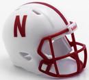 Nebraska Cornhuskers Helmet Riddell Pocket Pro Speed Style Special Order