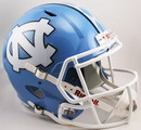 North Carolina Tar Heels Helmet Riddell Pocket Pro Speed Style Special Order