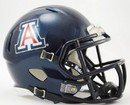 Arizona Wildacats Helmet Riddell Pocket Pro Speed Style