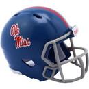 Mississippi Rebels Helmet Riddell Pocket Pro Speed Style Special Order