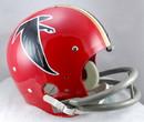 Atlanta Falcons 1966-69 TK Helmet