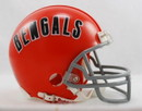 Cincinnati Bengals 1968-79 Throwback Replica Mini Helmet w/ Z2B Face Mask
