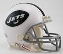New York Jets 1965-77 Throwback Replica Mini Helmet w/ Z2B Face Mask