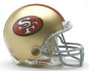 San Francisco 49ers 1964-95 Throwback Replica Mini Helmet