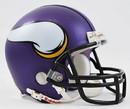 Minnesota Vikings Replica Mini Helmet w/ Z2B Face Mask