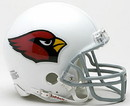 Arizona Cardinals Replica Mini Helmet w/ Z2B Face Mask