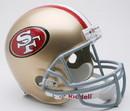 San Francisco 49ers Riddell Deluxe Replica Helmet