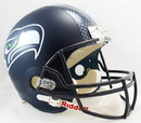 Seattle Seahawks Riddell Deluxe Replica Helmet - Decal