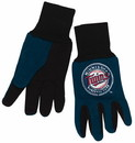 Minnesota Twins Two Tone Gloves - Youth Size - Special Order