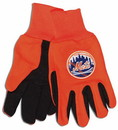 New York Mets Two Tone Gloves - Youth Size - Special Order