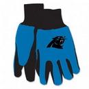 Carolina Panthers Two Tone Gloves - Youth Size