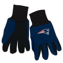 New England Patriots Two Tone Youth Size Gloves
