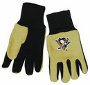 Pittsburgh Penguins Two Tone Gloves - Youth