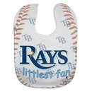 Tampa Bay Rays Baby Bib Full Color Mesh Style