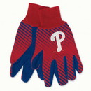 Philadelphia Phillies Gloves Two Tone Style Adult Size Size Special Order