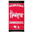 Nebraska Cornhuskers Beach Towel