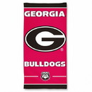 Georgia Bulldogs Beach Towel