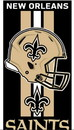 New Orleans Saints Beach Towel