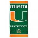 Miami Hurricanes Beach Towel