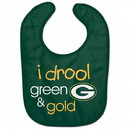 Green Bay Packers Baby Bib All Pro I Drool Design