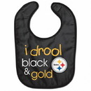 Pittsburgh Steelers Baby Bib All Pro Style I Drool Design
