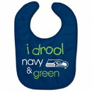 Seattle Seahawks Baby Bib All Pro Style I Drool Design Special Order
