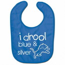 Detroit Lions Baby Bib All Pro Style I Drool Design Special Order