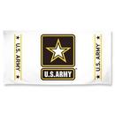 US Army White Beach Towel