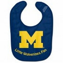 Michigan Wolverines Baby Bib - All Pro Little Fan