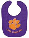 Clemson Tigers Baby Bib - All Pro Little Fan